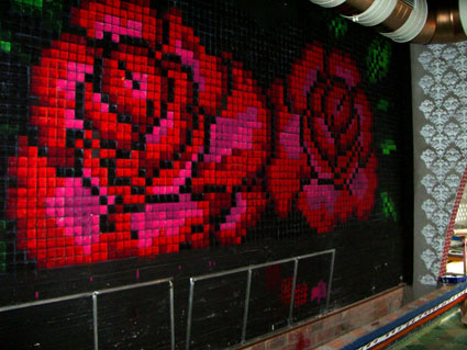 graffiti barcelona ilustracion decoracion discoteca 1