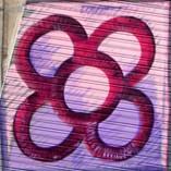 graffiti baldosa