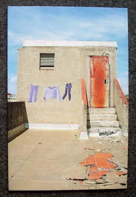 cuadro graffiti barcelona street art ropa tendida 3