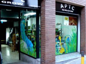 decoracion de escaparates, ilustracion barcelona 3
