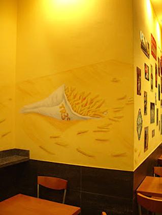 graffiti barcelona decoracion de restaurantes