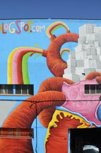 graffiti gigante e un corazon