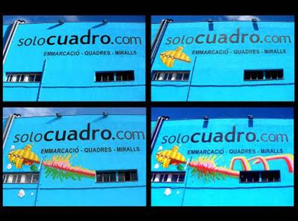 graffiti submarino