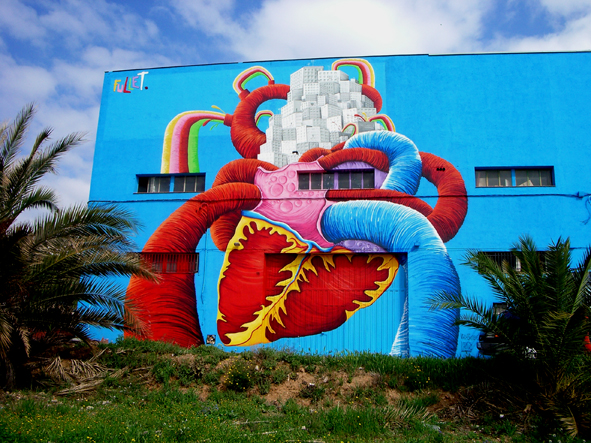graffiti barcelona ilustracion arcoiris fullet 7