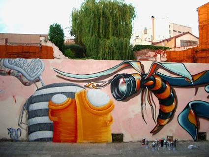 graffiti con Werens