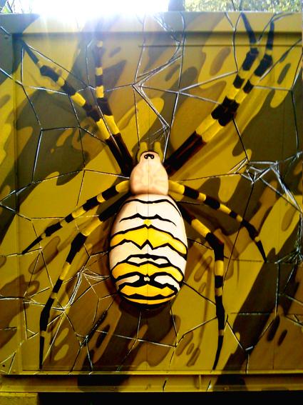 graffiti-barcelona araña fullet