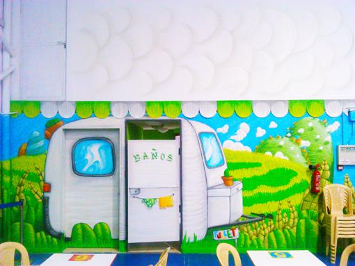 graffiti decoracion circus16