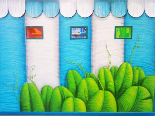 graffiti decoracion circus7