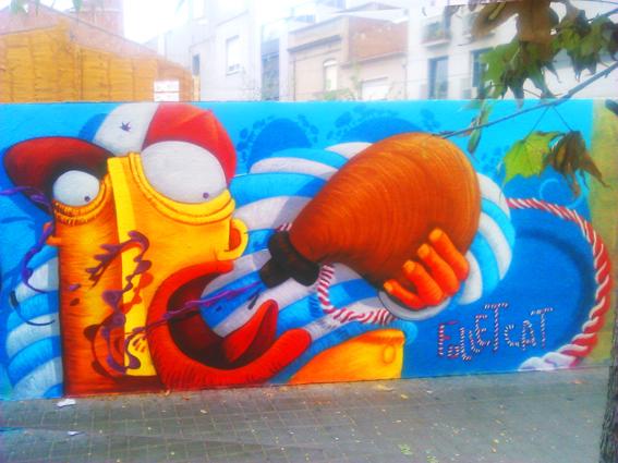 Graffiti en Sabadell