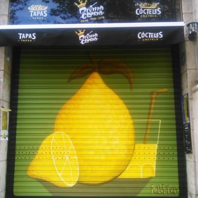 Limon , graffiti barcelona