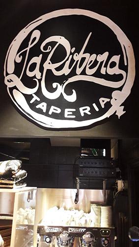 Decoracíon del restaurante La Ribera