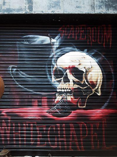 Graffiti scaperoom