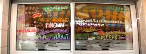 decoracion de escaparates, ilustracion barcelona carta
