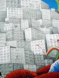 graffiti barcelona ilustracion arcoiris fullet 1