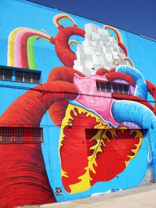 graffiti barcelona corazon