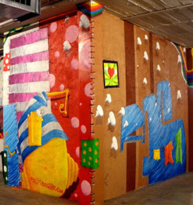 graffiti para el festibal urban de ripollet