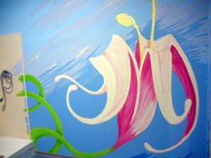 graffiti flores
