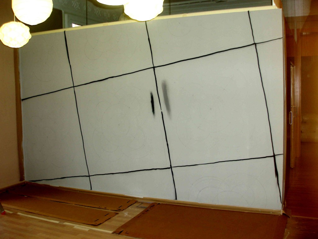 OLYMPUgraffiti acera modernista de barcelonaS DIGITAL CAMERA