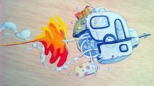 cuadro graffiti arcoiris 2