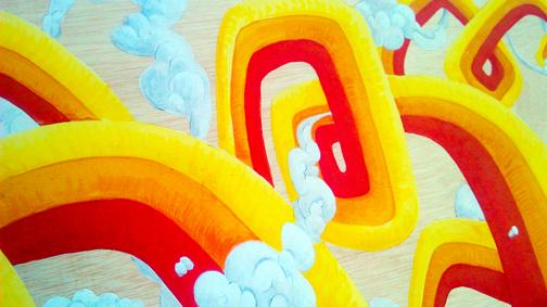 cuadro graffiti arcoiris 3