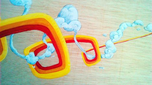 cuadro graffiti arcoiris 4