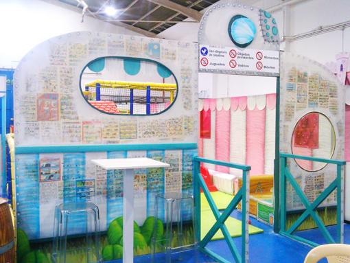 graffiti decoracion circus6