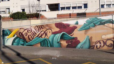 graffiti en Sabadell con werens