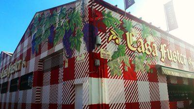 """Decoración de la fachada """"Casa Fuster"""""""