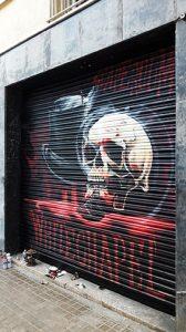 decoracion de persianas, graffiti-barcelona, graffiti-persiana